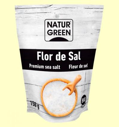 Flor de Sal Bio - NaturGreen - 150 gramos
