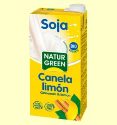 Soja Canela Limón Bio - NaturGreen - 1 litro