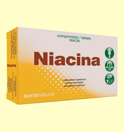 Niacina Retard - Vitamina B3 - Soria Natural - 48 comprimidos