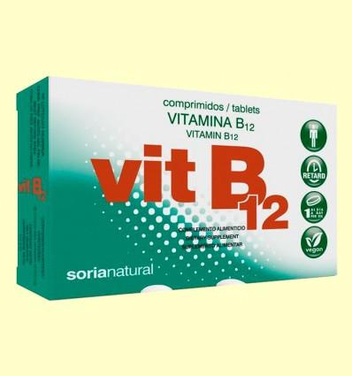 Vitamina B12 - Soria Natural - 48 comprimidos