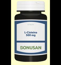 L-Cisteína 500 mg - Bonusan - 60 cápsulas