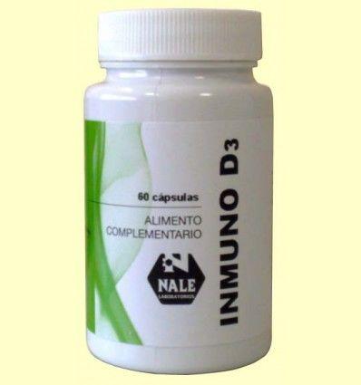 Inmuno D3 - Vitamina D - Laboratorios Nale - 60 cápsulas