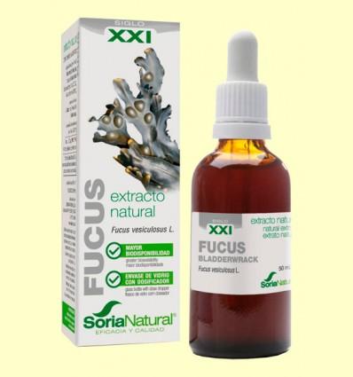 Fucus Extracto S XXI - Soria Natural - 50 ml