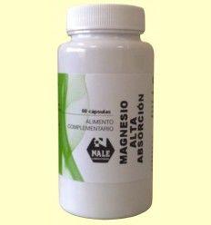 Magnesio de alta absorción - Laboratorios Nale - 60 cápsulas