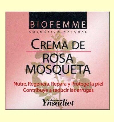 Crema de Rosa Mosqueta - Cosmética natural - Ynsadiet - 50 ml