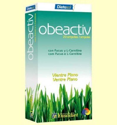 Obeactiv - Vientre Plano - Ynsadiet - 20 ampollas *