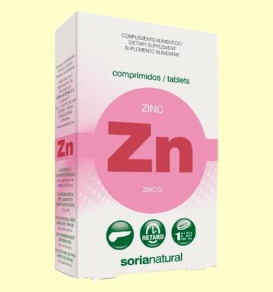 Zinc Retard - Soria Natural - 48 comprimidos