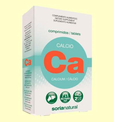 Calcio Retard - Soria Natural - 30 comprimidos