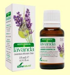 Aceite Esencial de Lavanda - Soria Natural - 15 ml