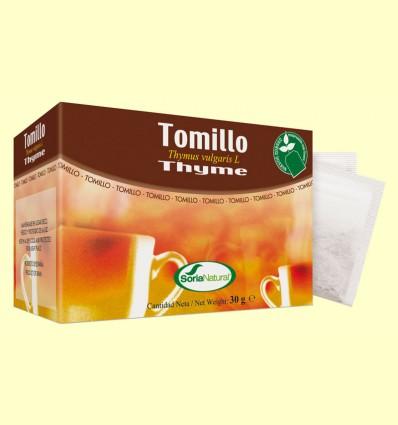 Tomillo - Soria Natural - 20 filtros