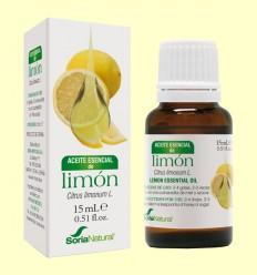 Aceite Esencial de Limón - Soria Natural - 15 ml