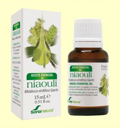 Aceite Esencial Niaouli - Soria Natural - 15 ml
