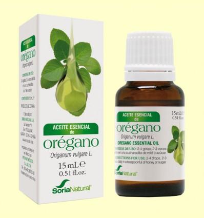 Aceite Esencial de Orégano - Soria Natural - 15 ml