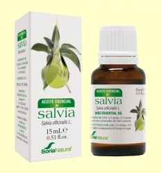 Aceite Esencial de Salvia - Soria Natural - 15 ml