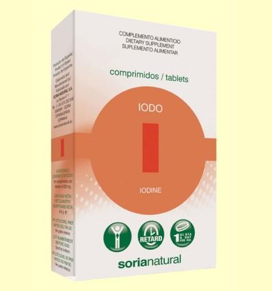 Iodo Retard - Soria Natural - 48 comprimidos