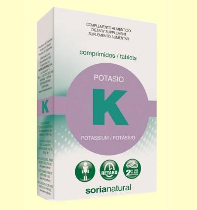 Potasio Retard - Soria Natural - 20 comprimidos