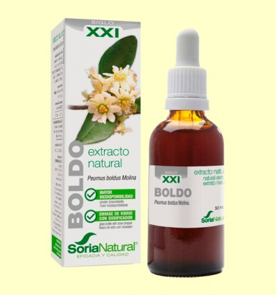 Boldo Extracto S XXI - Soria Natural - 50 ml