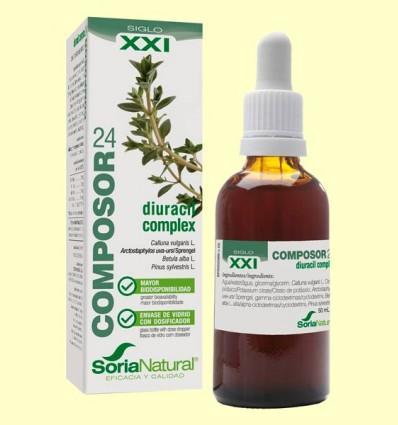 Composor 24 Diuracil Complex S XXI - Soria Natural - 50 ml