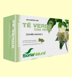Té Verde Comprimidos - Soria Natural - 60 comprimidos