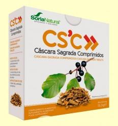 Cáscara Sagrada Comprimidos - Soria Natural - 36 comprimidos