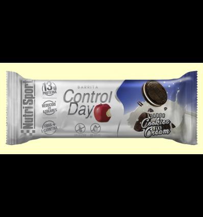 Barrita Control Day - Cookies & Cream - NutriSport - 44 gramos