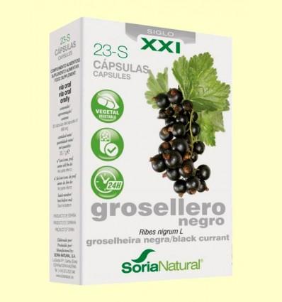Grosellero Negro 23 S XXI - Soria Natural - 30 cápsulas