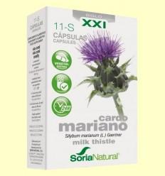 Cardo Mariano 11 S XXI - Soria Natural - 30 cápsulas