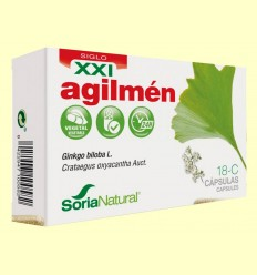 Agilmen 18 C S XXI - Soria Natural - 30 cápsulas