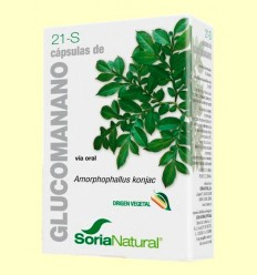 Glucomanano - Soria Natural - 60 cápsulas