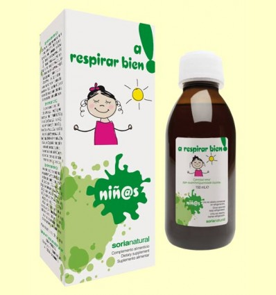 A Respirar Bien - Jarabe Infantil - Soria Natural - 150 ml
