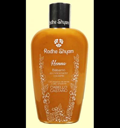 Bálsamo Henna Castaño - Radhe Shyam - 250 ml