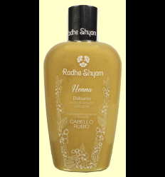 Bálsamo Henna Rubio - Radhe Shyam - 250 ml