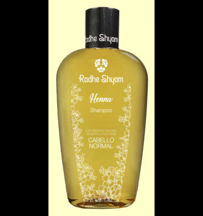 Champú Henna Cabello Normal - Radhe Shyam - 250 ml