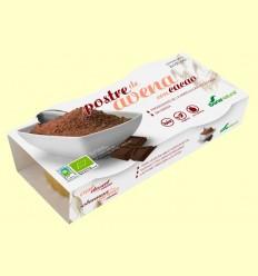 Postre de Avena con Cacao - Soria Natural - 2 x 100 gramos
