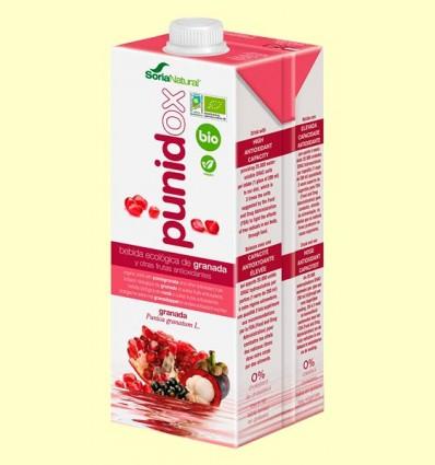 Punidox - Bebida de Granada Antioxidante Bio - Soria Natural - 1 litro