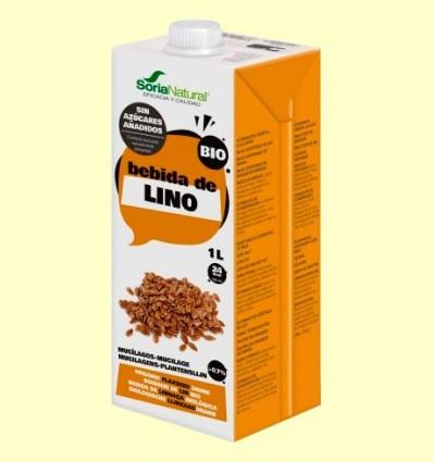 Bebida de Lino Bio - Soria Natural - 1 litro