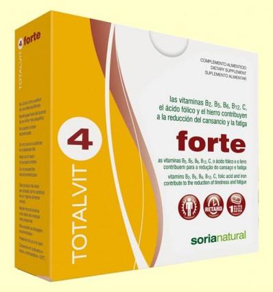 Totalvit 4 Forte - Estados Carenciales - Soria Natural - 28 comprimidos