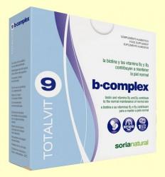 Totalvit 9 B Complex - Piel - Soria Natural - 28 comprimidos