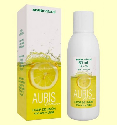Auris Lemon - Licor de Limón - Soria Natural - 60 ml