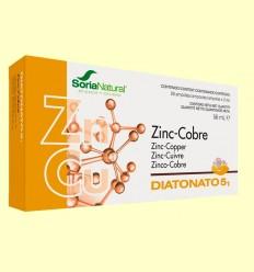 Diatonato 5/1 - Zinc y Cobre - Soria Natural - 28 ampollas