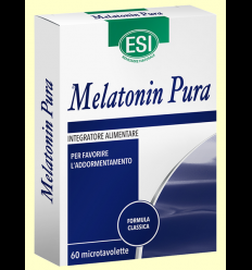 Melatonin Pura 1 mg - Melatonina - Laboratorios Esi - 60 microtabletas