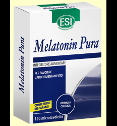 Melatonin Pura 1 mg - Melatonina - Laboratorios Esi - 120 microtabletas