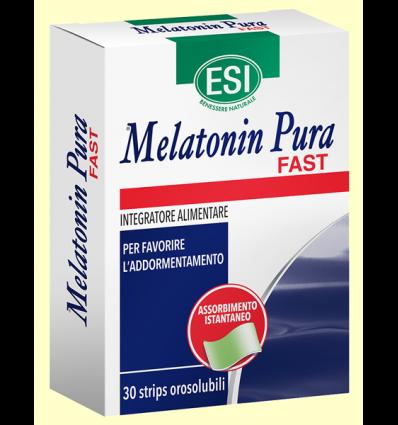Melatonin Pura Fast 1 mg - Melatonina - Laboratorios Esi - 30 Strips