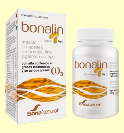 Bonalin - Mezcla de Aceites - Soria Natural - 100 perlas