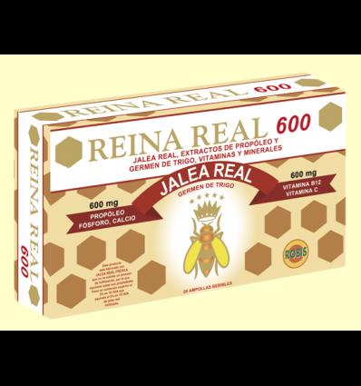 Reina Real 600 - Jalea Real con Propóleo - Robis - 20 ampollas