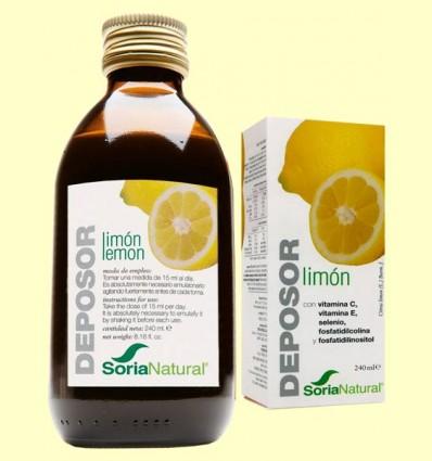 Deposor Limón - Depurativo - Soria Natural - 240 ml