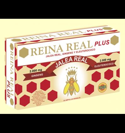 Reina Real Plus - Jalea Real con Ginseng Rojo - Robis - 20 ampollas