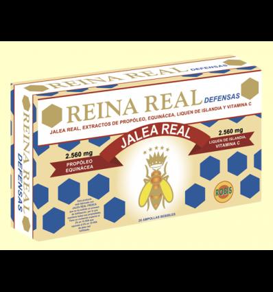 Reina Real Defensas - Robis - 20 ampollas
