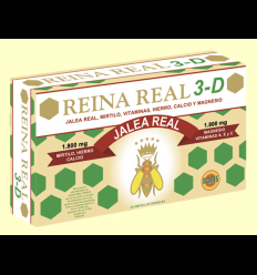 Reina Real 3D - Jalea Real - Robis - 20 ampollas