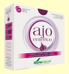 Ajo Entérico - Soria Natural - 30 comprimidos
